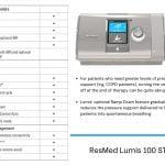 Resmed Lumis 100 ST VPAP