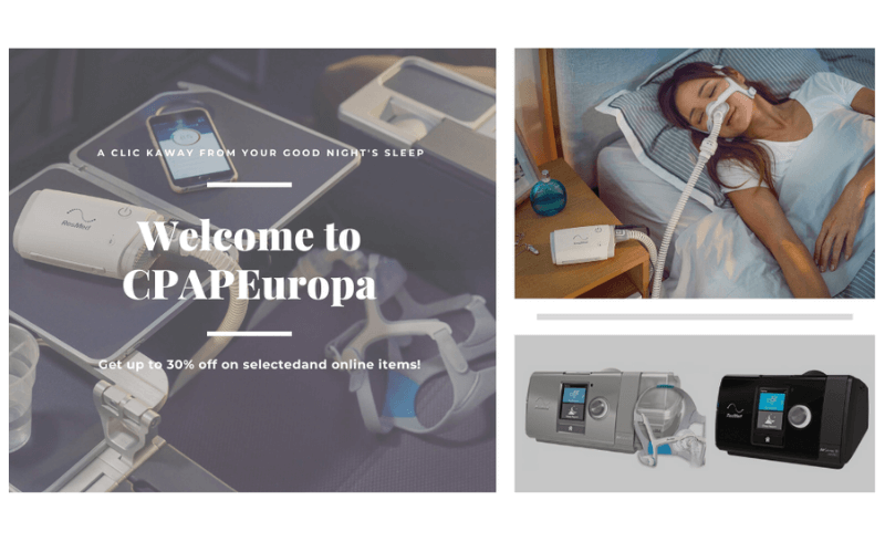 Cpap and sleep apnea shop. cover photo.