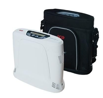 Zen-o-lite protable oxygen concentrator with carry bag