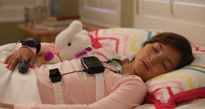 Nox T3 sleep monitor used by child