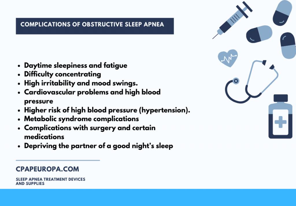 Sleep apnea complications 2020