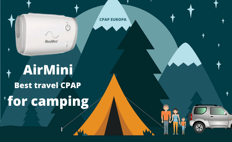 Camping whit sleep apnea blog post CPAPEuropa