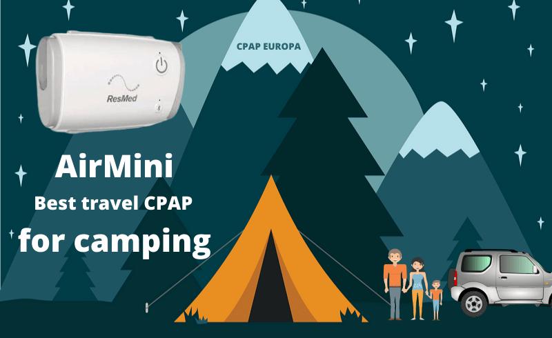 Camping whit sleep apnea blog post CPAPEuropa