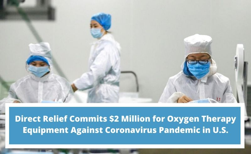 $2 million relief for oxygen concentrators Inogen part of coronavirus response