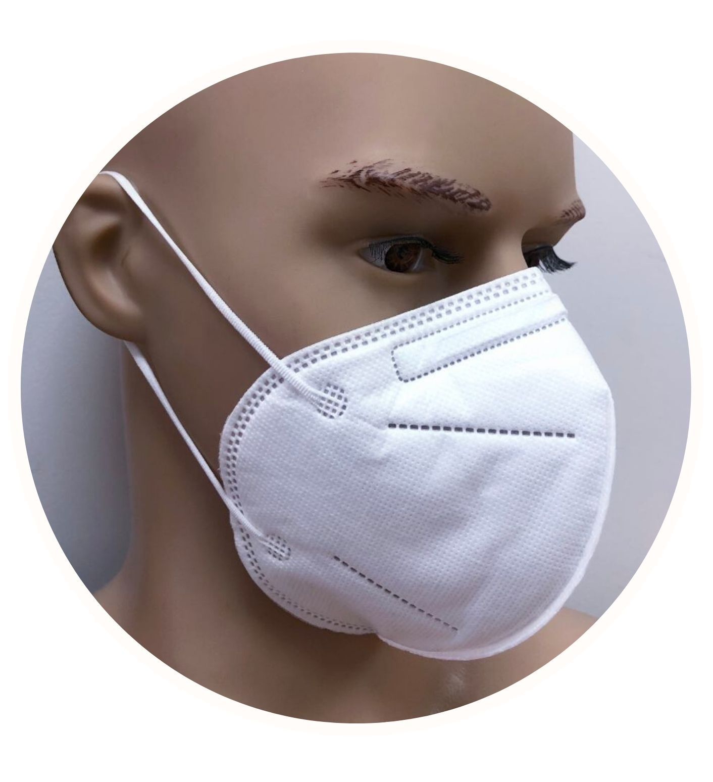 Medical Face Mask / Respirator KN95 - FDA & CE Approval (COVID-19) - 10 pc