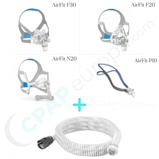 resmed airmini setup pack cpap mask and tube.