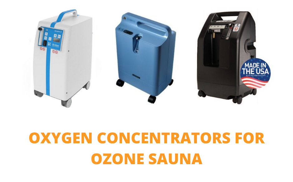 Oxygen Concentrators For Ozone Sauna