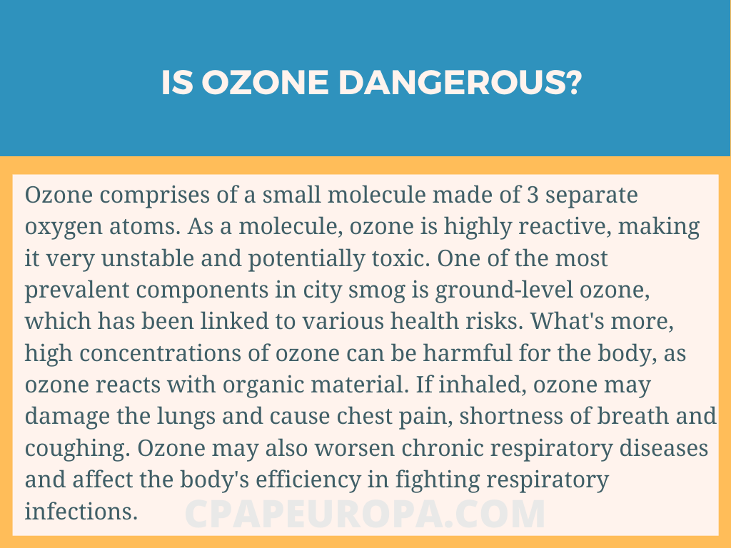 Is Ozone dangerous? CPAPEUROPA.COM